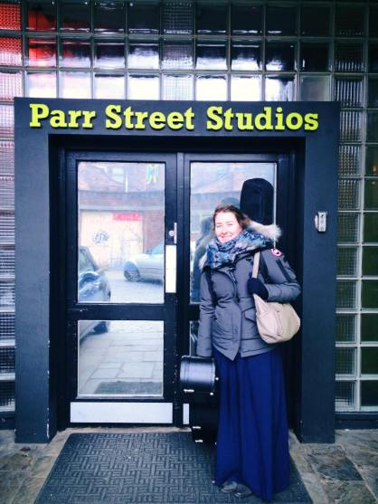 Recording at Parr Street Studios. Photos by Mark Carline.