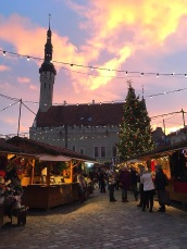 Christmas Market in Old Town Square.