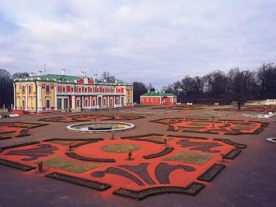 Kadriorg Palace, gardens.